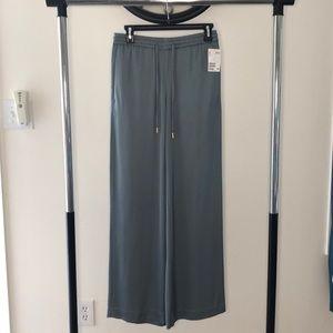 NEW H&M Women's Wide Leg Drawstring Dress Pant